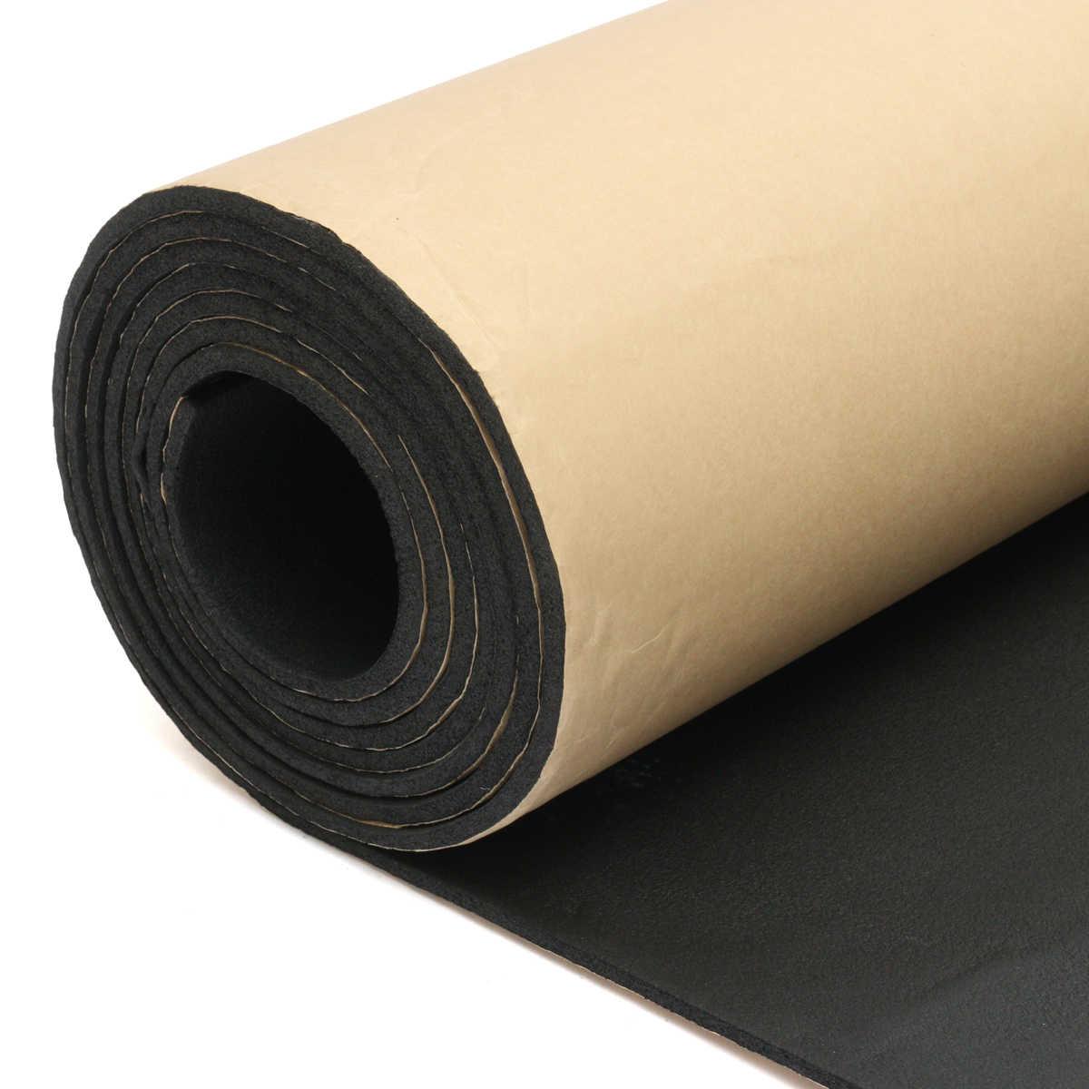 1 Roll 100cmx200cm 5mm Car Sound Heat Insulation Cotton Sound Proofing Deadening Insulation Foam Mat Acoustic Panel Self Adhesiv Sound Heat Insulation Cotton Aliexpress