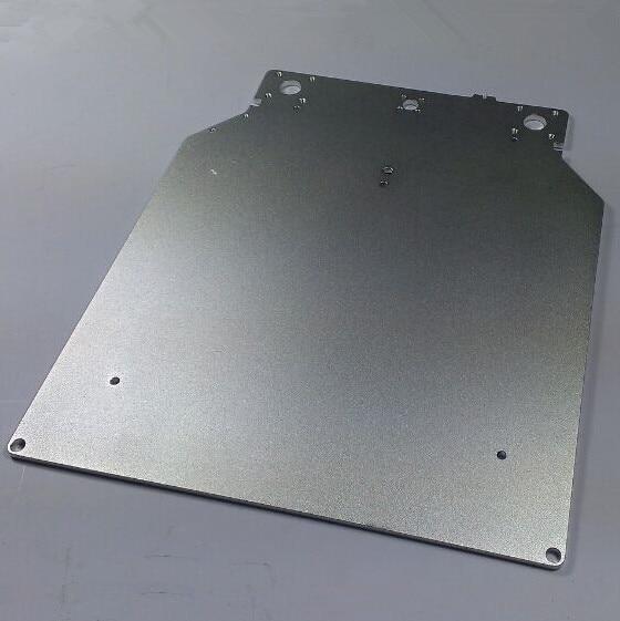 Ultimaker 2 لوحة قاعدة طباعة الطاولة لتقوم بها بنفسك طابعة ultimaker ثلاثية الأبعاد سطح معالجة أكسدة سبائك الألومنيوم 303.5*257*4m