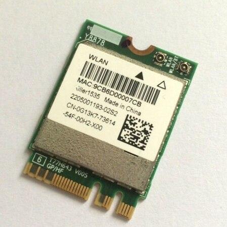 SSEA al por mayor venta al por mayor nuevo por asesino Wireless-AC 1535 ac/a/g/n M.2 NGFF esposa Bluetooth tarjeta 4,1 ALIENWARE 17 R3 P43F 867mbps