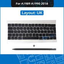 Nouveau A1989 A1990 UK Keycap pour Macbook Pro Retina 13