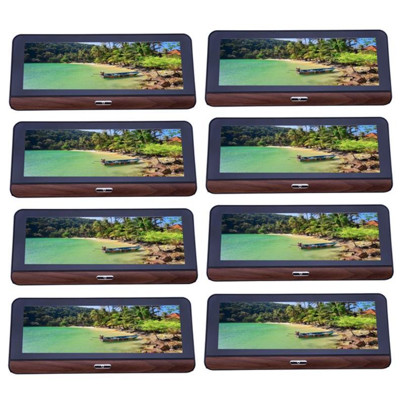 8 pulgadas 3G GPS navegación Bluetooth WiFi DVR opcional cámara de visión trasera