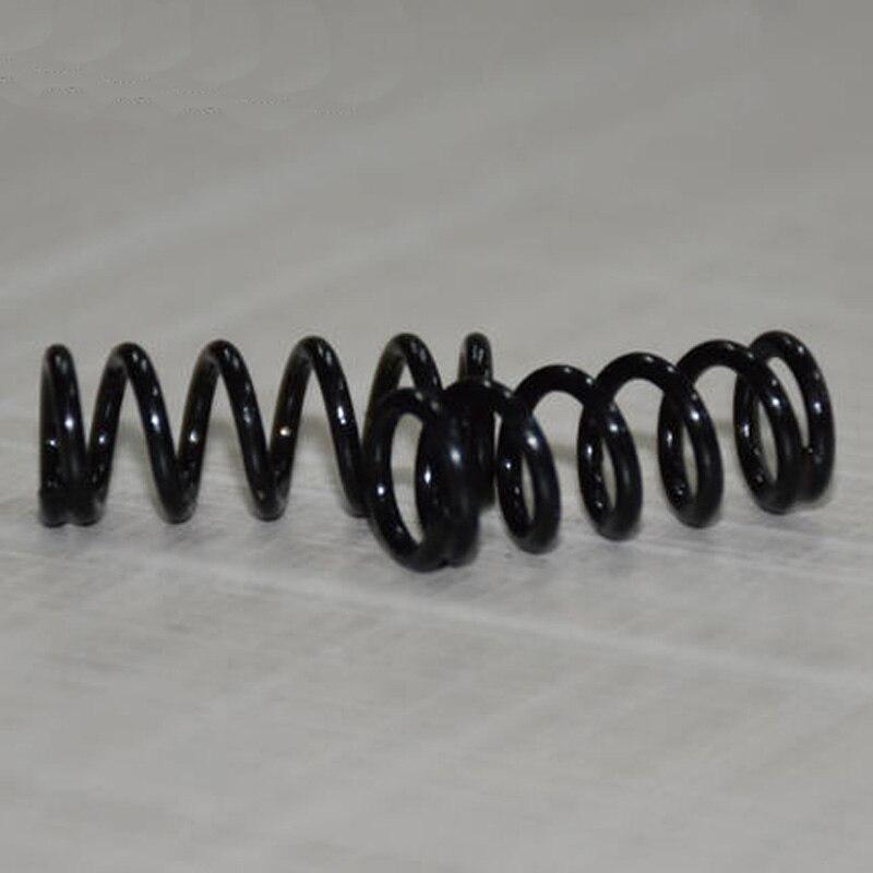 Muelles de compresión de acero de manganeso de 0,3mm de diámetro de alambre de 10 piezas de resorte de presión tipo Y de 5mm a 6mm diámetro exterior de 5-50mm de longitud