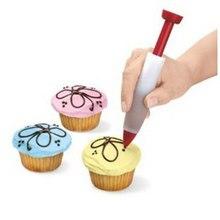 Nozzles Cake Decoration Pastry Tips Pen For Cake Cream Chocolate Syringe Paint Pen Cake Cookie Fondant Molds Cake Decorating