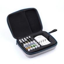 1 шт., держатель для аккумулятора aaa aa, чехол для аккумулятора EVA, коробка для хранения аккумуляторных батарей, органайзер для аккумулятора, сумка для 40 шт. aa aaa, диапазон свай