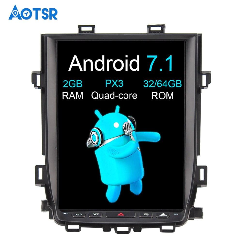 Aotsr Android 7,1 estilo Tesla reproductor de DVD del coche de navegación GPS Radio para Toyota Alphard Vellfire 20 series 2010, 2011, 2012, 2013, 2014