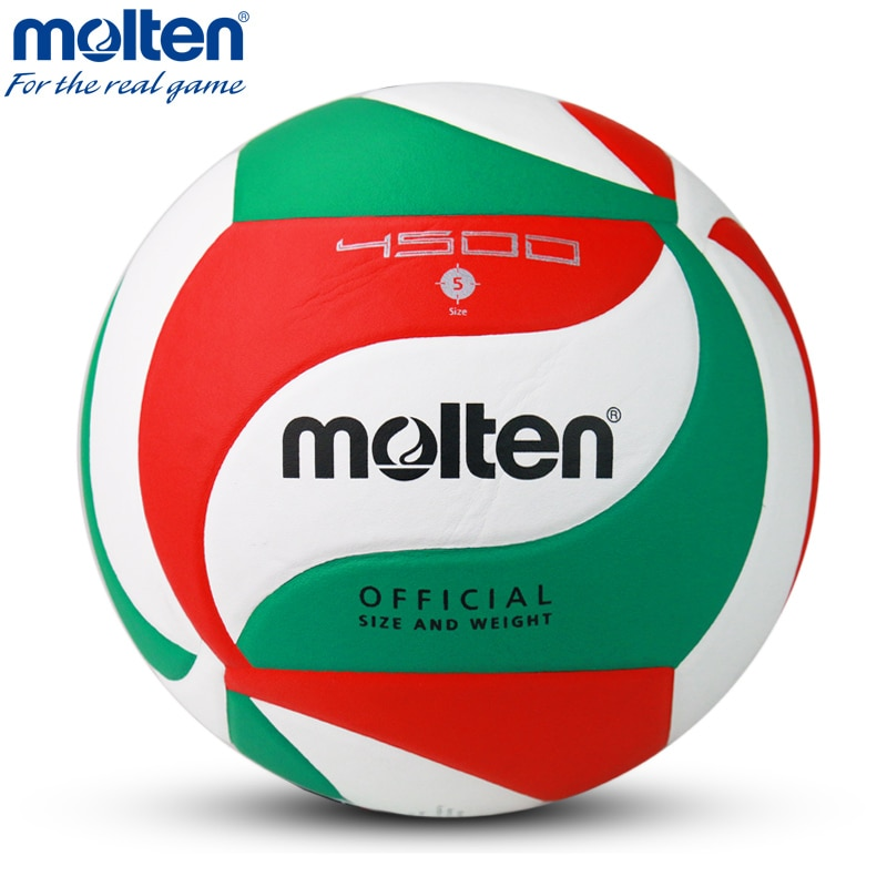 100% Original pelota de vóleibol Molten V5M4500 nueva marca de alta calidad fundido Material de la PU tamaño oficial 5 pelota de voleibol