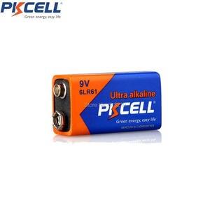 Image 2 - 10 шт., 6LR61, супер щелочная батарея, 9 В, Стандартная батарея, одиночные батареи