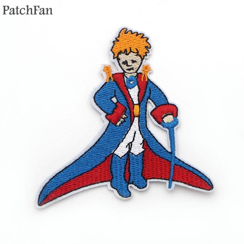Aplique de costura parche bordado Pequeño Príncipe para chaqueta Jeans zapatos mochila insignias A0255