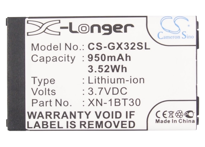 Cameron Sino 950mAh batería de la batería SNN5828 para Motorola V750... CE-BL150... XN-1BT30 para Sharp GX17... GX25... GX29... GX293... GX30... GX31... GX32... GX40