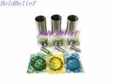 Réparation du jeu de roulements à Piston   Kit de cylindre pour Mitsubishi S3L S3L2 jeu de roulements à Piston pour moteur