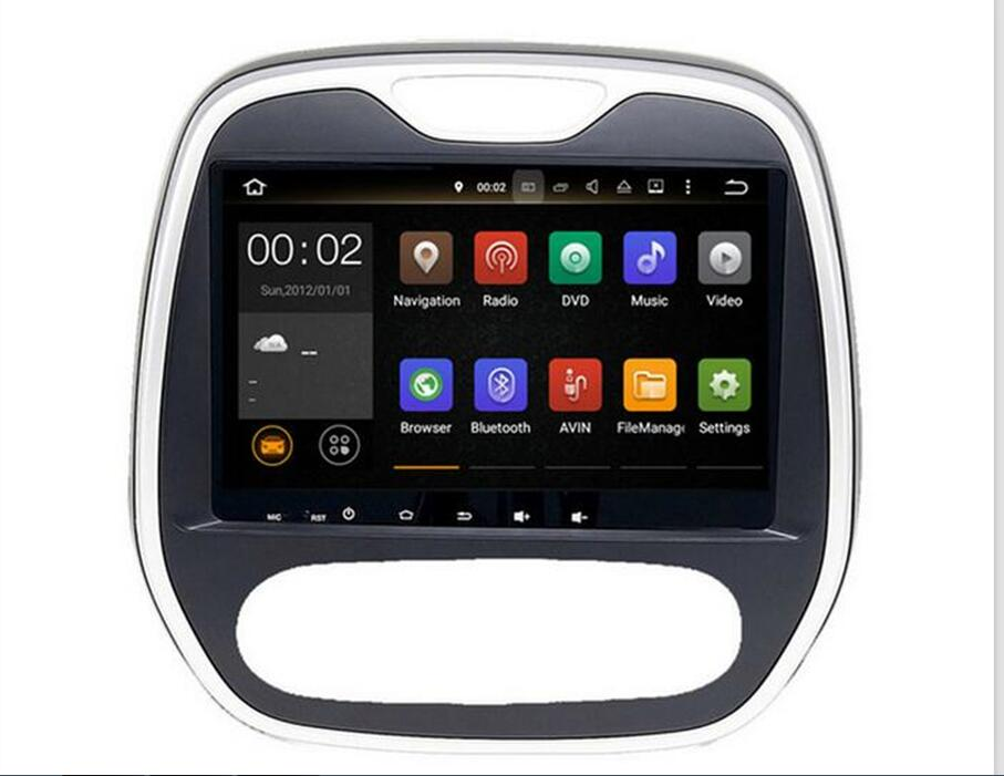 "¡9 ""4G LTE Android 8,0! 8 core coche multimedia reproductor de DVD Radio GPS para Renault Captur /CLIO /Samsung QM3 2011, 2012, 2013, 2014-2016"