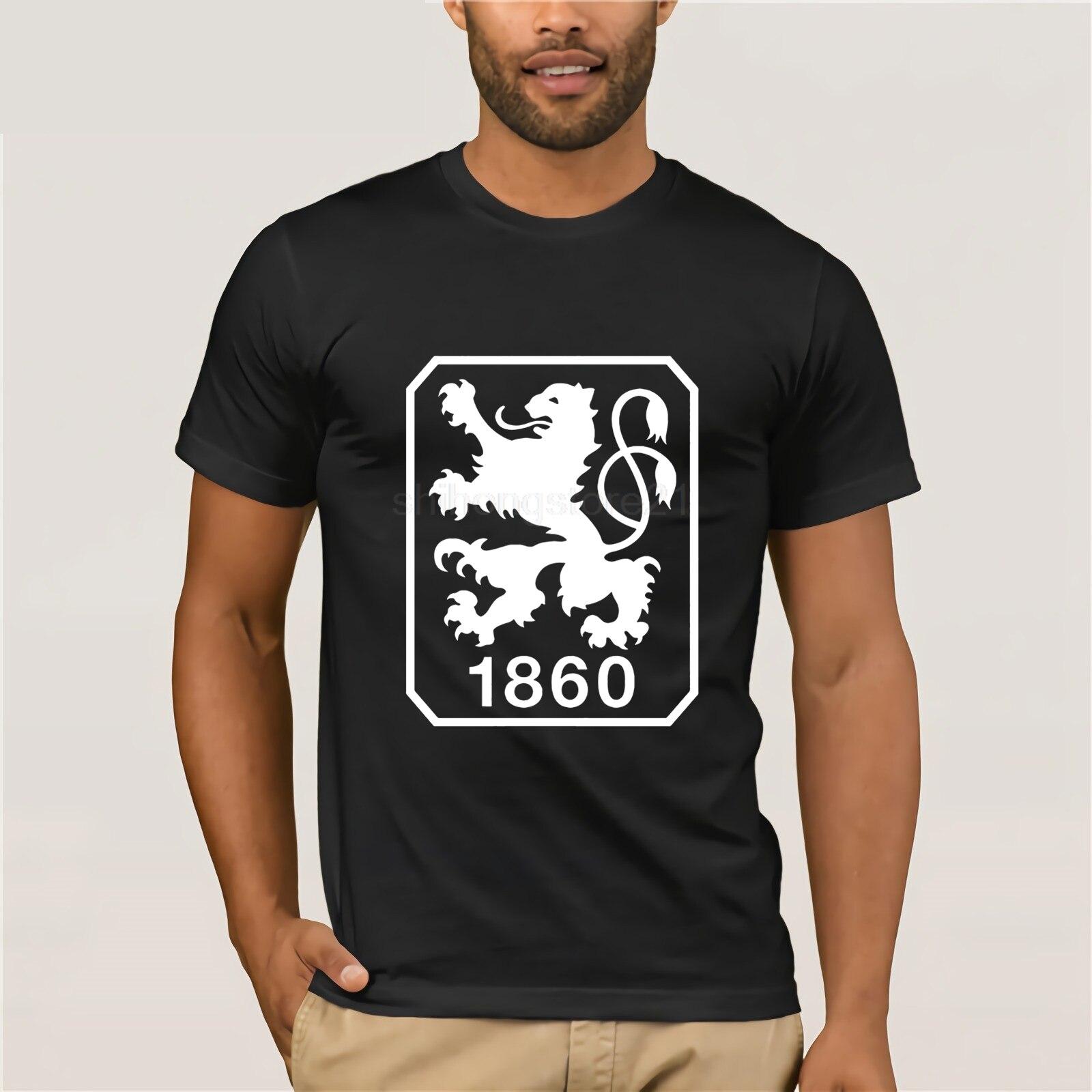 TSV 1860 Munchen Alemania negro blanco Camisetas Camiseta corta DE b Allianz Arena Daniel Bierofka Michael Liendl Camiseta (114)