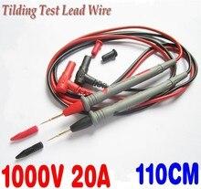 4 pièces/ensemble 42 Cooper câble de sonde de fil de Test de Tilding pour multimètre A801 livraison gratuite