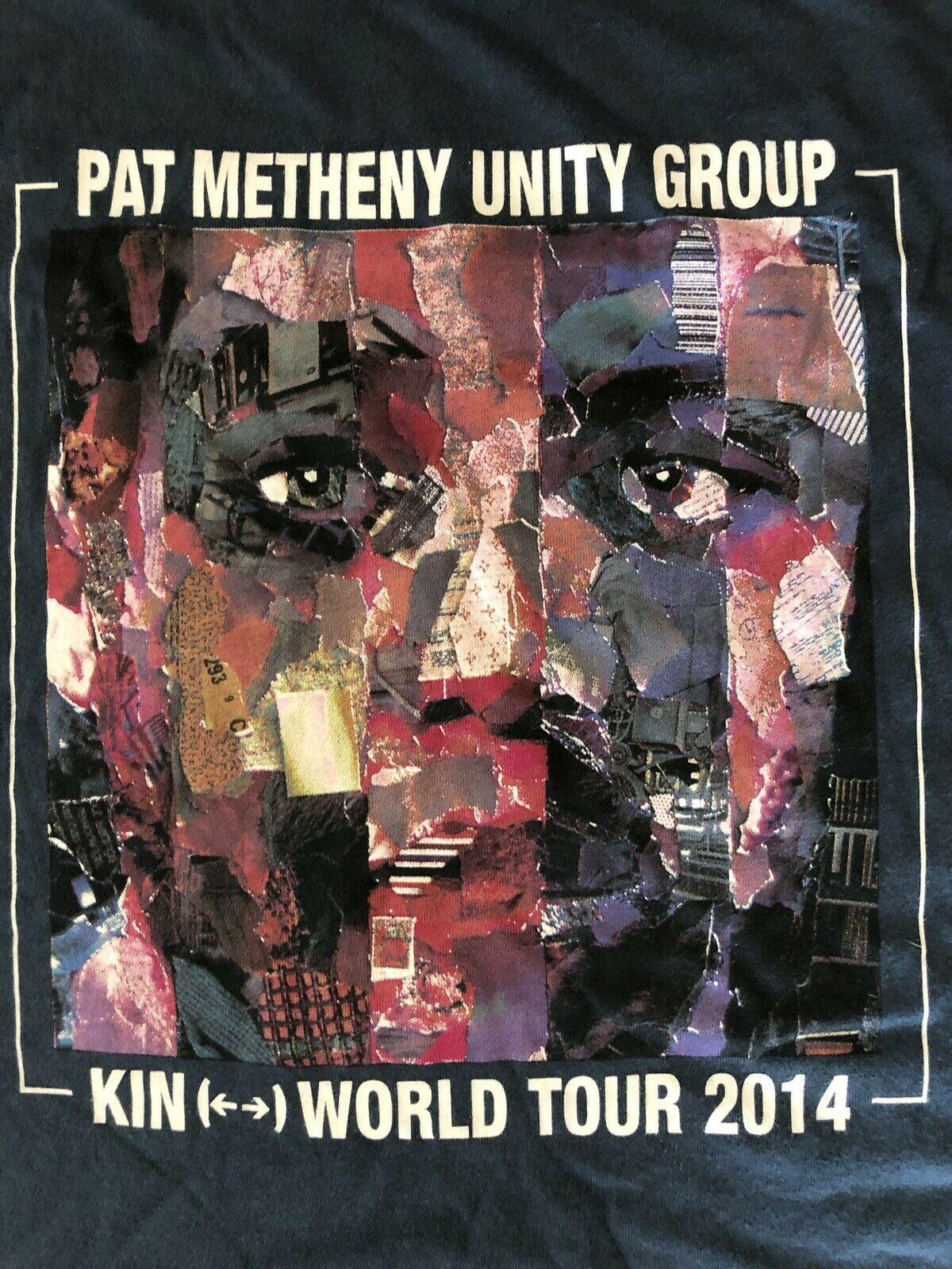 *** Pat Metheny grupo familiar gira mundial de 2014 LG camiseta ***