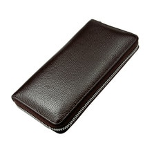 Multifunction Mens Clutch Wallet Long Zipper Wallet Fashion male Coin Purse Cell Phone Bag zipper Men Card Holder