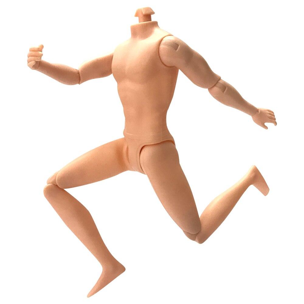 NK Новинка 11 шарнирная Подвижная кукла тело для 30 см кукла бойфренд 26 см для куклы Кен голый тело принц детские игрушки DZ