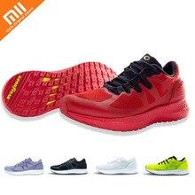 Chaude Xiaomi Amazfit Marathon entraînement Sneaker léger respirant Stable chaussures de Sport bas-haut Couple chaussures pour femmes hommes