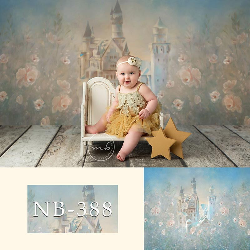 Photography Backdrops Newborn Boy or Girl Bokeh Photographic Background Baby Shower Decorations Photo Photocall Background Props