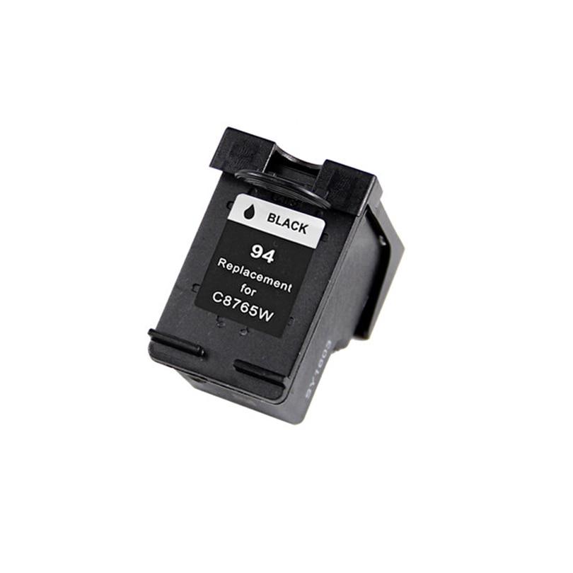 94 llenar cartucho de tinta negro C8765WN C8765W para hp 94 Deskjet serie 460, 5740, 5743, 6620, 6830, 6840 OfficeJet 6210 de 7210 a 7310 impresora
