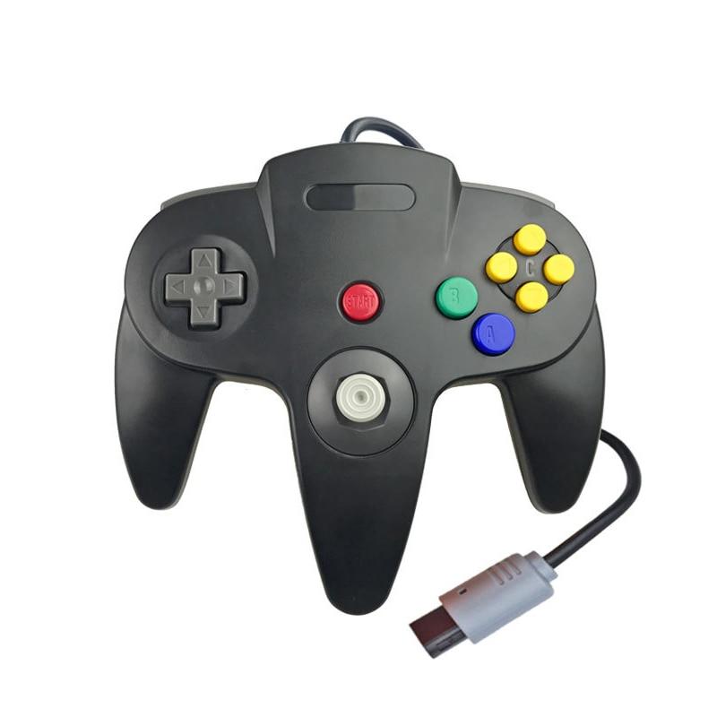Accesorios de juego Gamepad para mando de GameCube para ordenador controlador para Nintend N64 controlador con cable Joypad