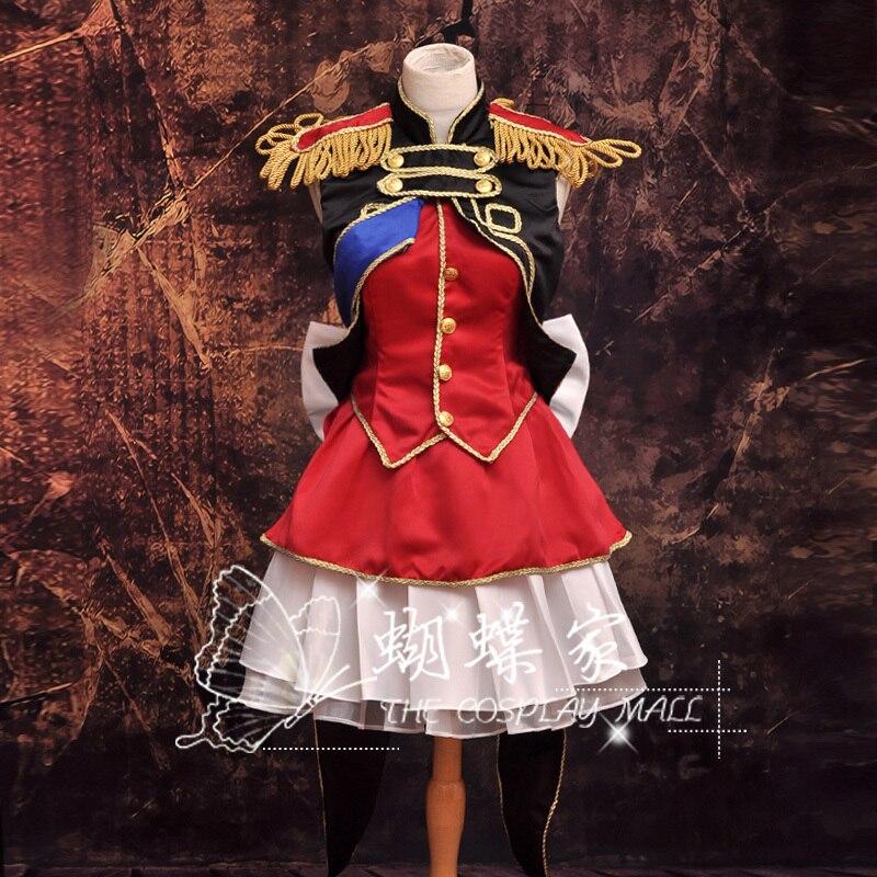 Costumes danime dhalloween à travers la frontière Sheryl Nome costume de Cosplay robe de fille danime