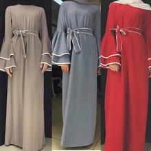 Abaya Caftan Hijab robe musulmane Jilbab Caftan Ramadan turquie dubaï Abayas pour les femmes Elbise Bangladesh turc vêtements islamiques
