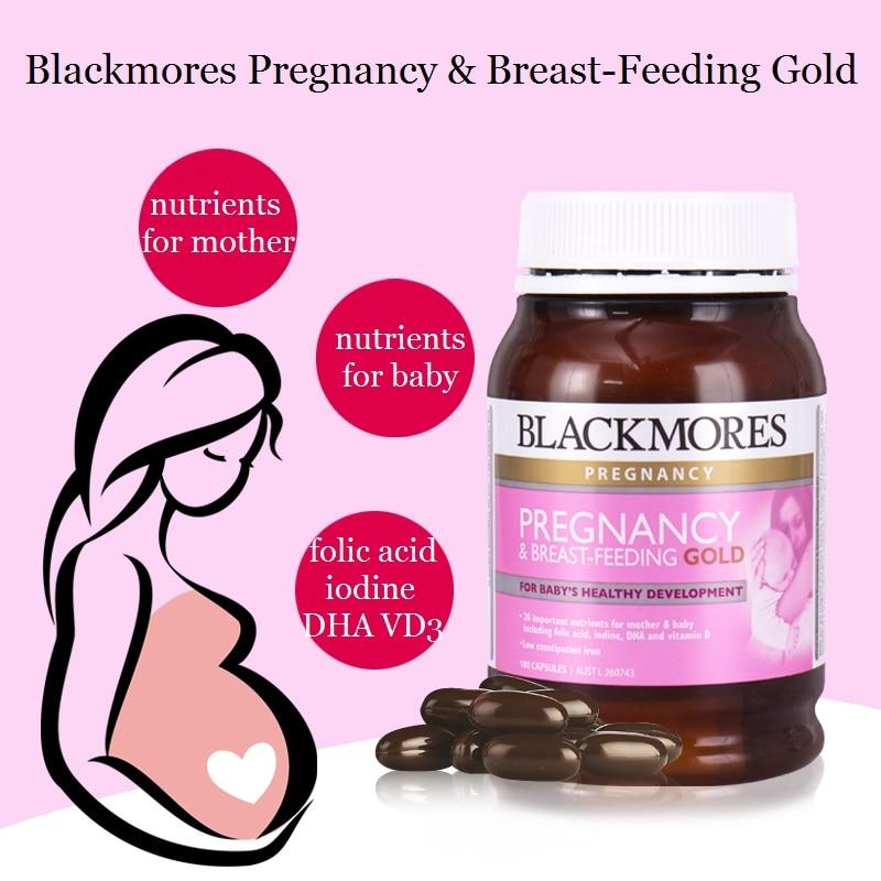 Australia BM Pregnancy Breastfeeding Essential Nutrients for Mother Baby Support Baby Brain Eyesight Nervous System Development