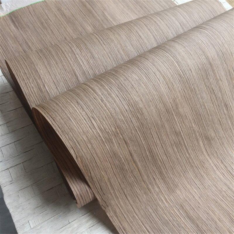 Chapa técnica de nogal chapa de ingeniería de madera en rodajas E.V. Respaldo de tejido 0,2mm de espesor Q/C