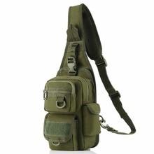 Bolsa Bandolera táctico bárbaros con pistolera, bolso de hombro militar, mochila para acampar al aire libre senderismo