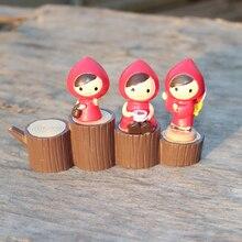 Rotkäppchen Miniatur Fee Garten Häuser Dekoration Mini Handwerk Micro Landschaftsbau Decor DIY Zubehör
