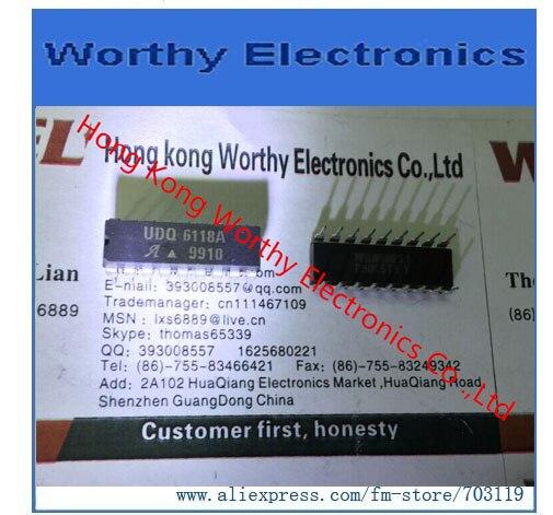 شحن مجاني 10 قطعة/الوحدة DIP-18 UDQ6118A