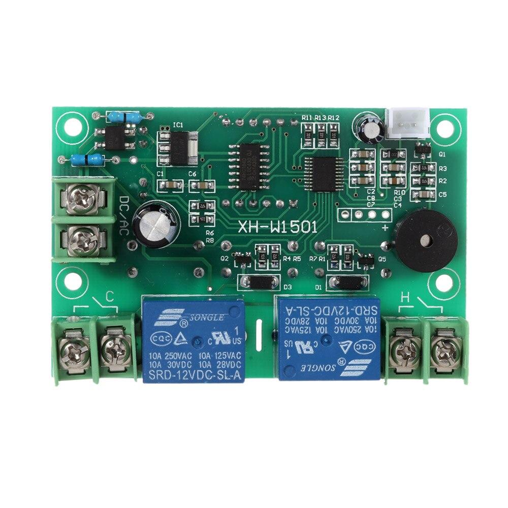 2 12 v canal Interruptor Automático Termostato Ajustável Controle de Temperatura Temperatura De Saída De Relé de Alarme estacion metereologica