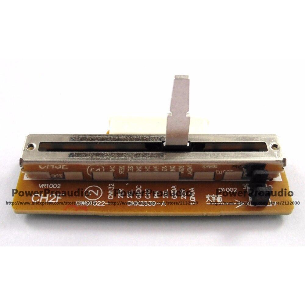 Montaje de deslizador de Fader DJM600 Channel 2 Ch2, para DJM 600...