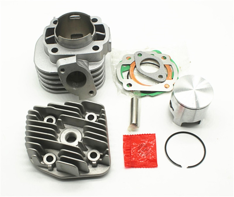 Cilindro de motocicleta para Yamaha Jog 50 JOG50 47,6, kit de cilindro de pistón 10mm pin