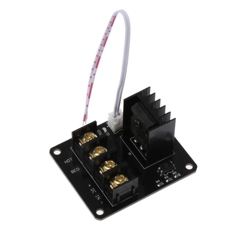 Módulo de Expansão Módulo De Potência MOSFET Viveiro Impressora de Cama Aquecida 3D Inc Levam a Cabo 2pin para Anet A8 A6 A2 rampas 1.4