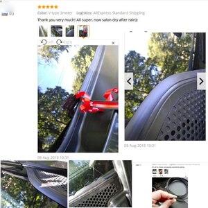 Image 5 - Автомобильное уплотнение, резиновые защитные полоски от царапин, уплотнительная прокладка, шумоизоляционные уплотнения, аксессуары для автомобильного интерьера