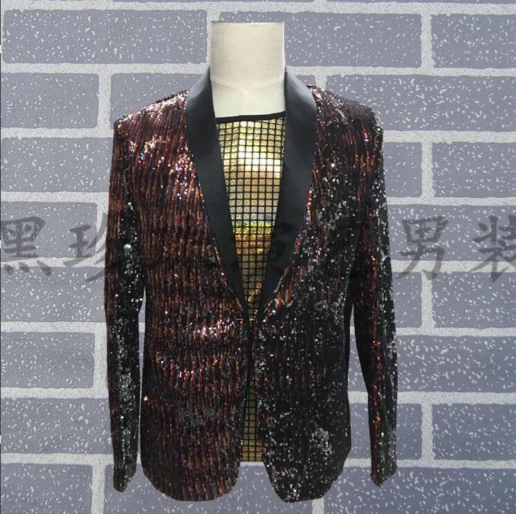 Индивидуальный Мужской Блейзер, одежда, мужской костюм, тонкие пайетки, мужские костюмы, Дизайнерская верхняя одежда, мужской костюм, черна...