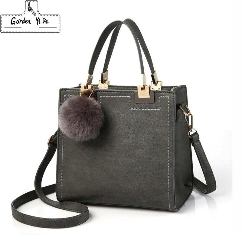 Bolso de mano para mujer, bolso de mano informal para mujer, grandes bolsas de mensajero de hombro, bolso de piel sintética de alta calidad con saco de piel