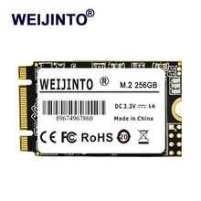 WEIJINTO m.2 SSD 2242 128GB 256gb 512gb HDD 2242mm NGFF SSD 120GB 240GB 1 테라바이트 M2 하드 드라이브 (노트북 점퍼 용) 3 pro prestigio 133