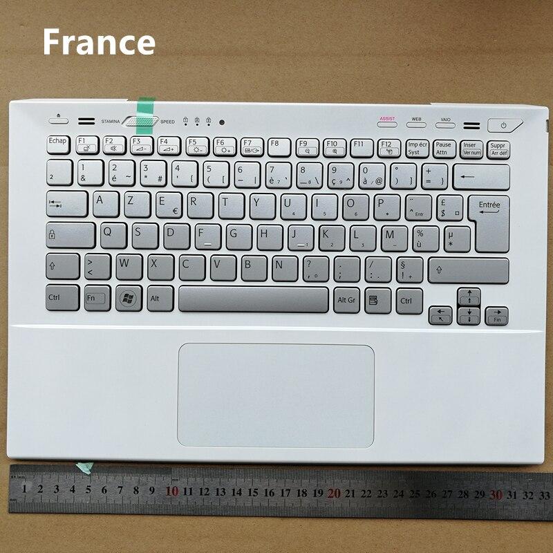 프랑스어 백라이트 새 노트북 키보드 소니 VPC SVS13A SVS131 SVS13A2S1 SVS131A11T SVS13118EC SVS13A36PG S13127 SVS13 시리즈