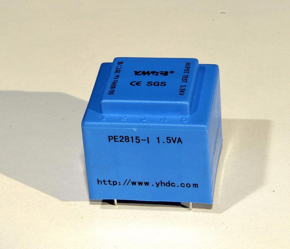 YHDC PE2815-I 1.5VA 220 v 9 v/170mA Gekapselte transformator für PCB MONTAGE
