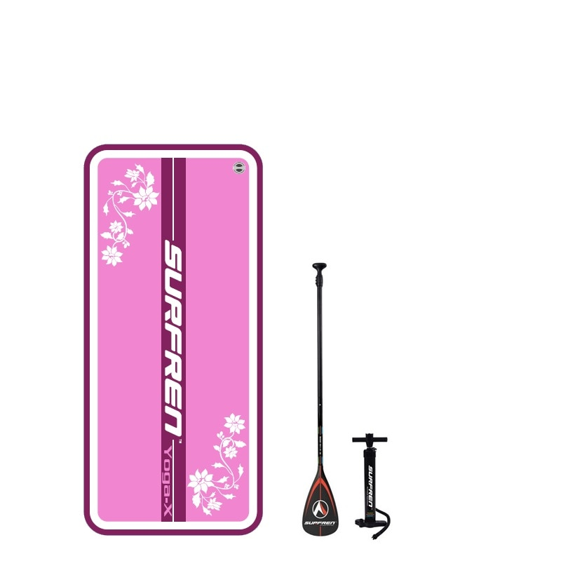 SURFREN Yoga board 199*91*12cm Inflable Surf stand up paddle boar SUP Stand Up Paddle Board Platform for Yoga Surfing Stability