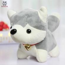 BOLAFYNIA 20CM 3PCS/LOT Children Plush Stuffed Toy cute Husky dog Baby Kids plush Toy for Christmas Birthday doll gift