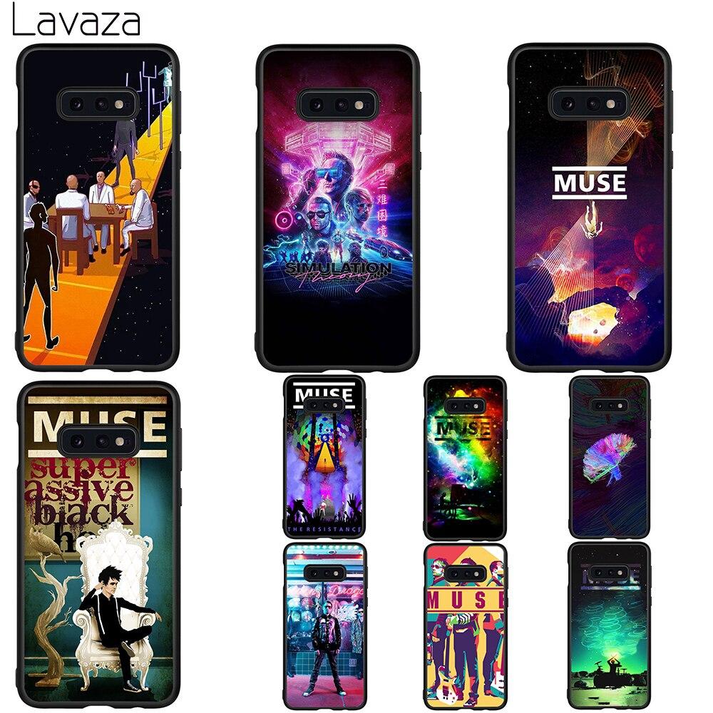 Lavaza Musa banda letra suave funda para Galaxy A3 A5 2016 2017 A6 más A7 A8 A9 J6 2018 A10 30 40 50 70