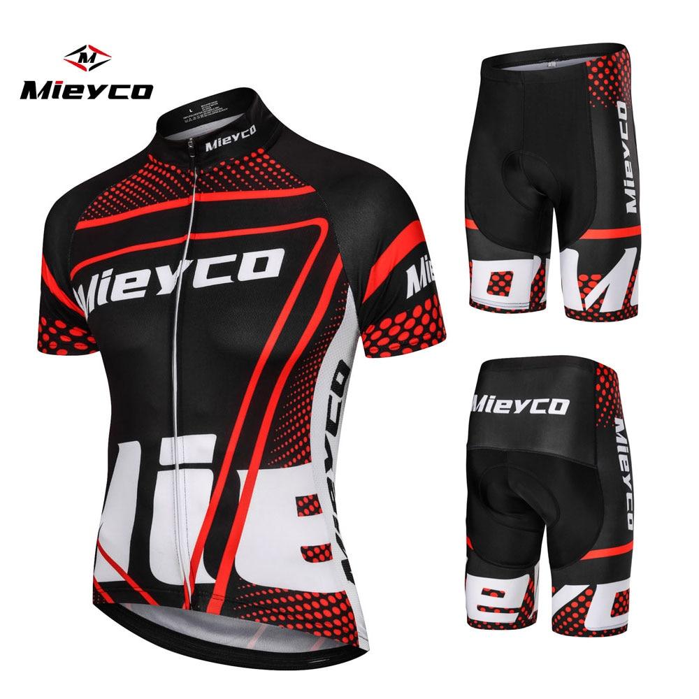 Mieyco-Ropa deportiva de ciclismo para hombre, conjunto para bicicleta de montaña con...