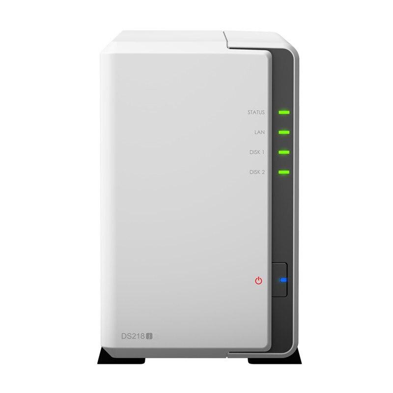 NAS Synology disco estación DS220j 2-bay sin disco Servidor nas nfs de red de almacenamiento en la nube de 2 años de garantía