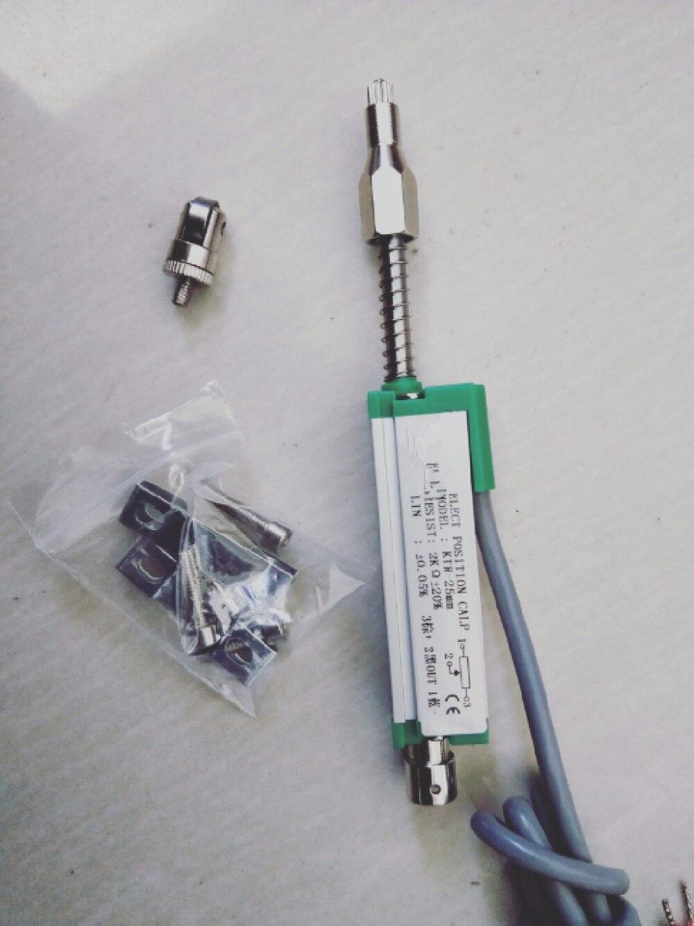 KTR-25MM Miniature auto-réinitialisation règle électronique capteur de déplacement capteur de déplacement capteur de position à coudre transducteurs