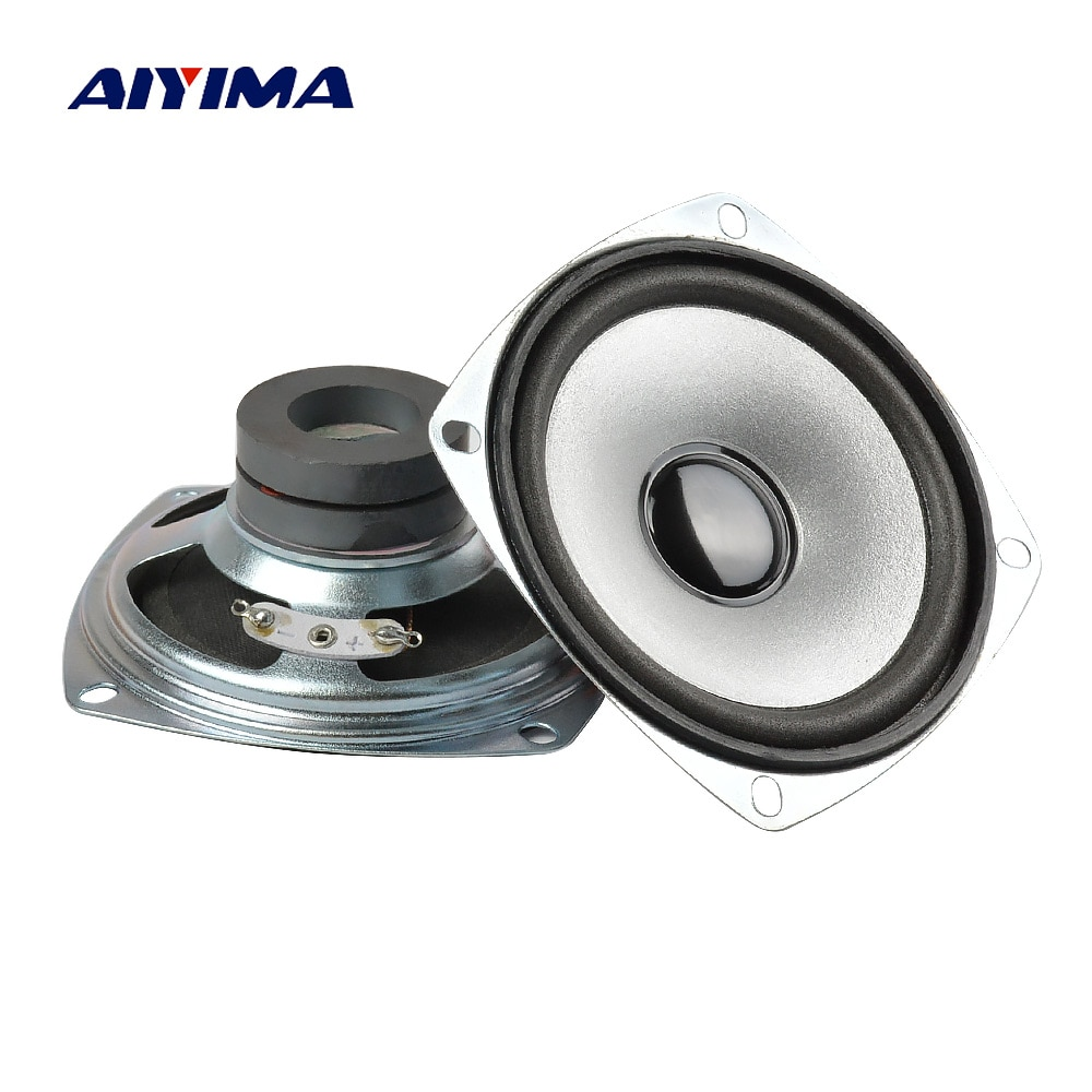 AIYIMA 2 uds 3 pulgadas 78mm de Audio portátil de Altavoces de...
