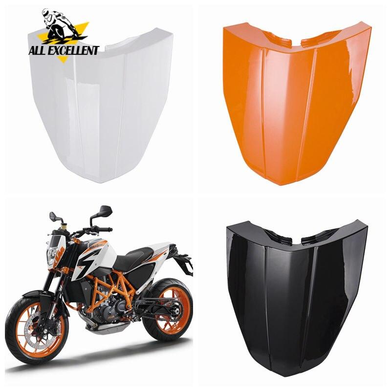 Anneau de protection pour moto   ABS, Pillion arrière en plastique Solo queue de cheval siège pour 2013 2014 KTM 2015 Duke Orange blanc noir 3 couleurs