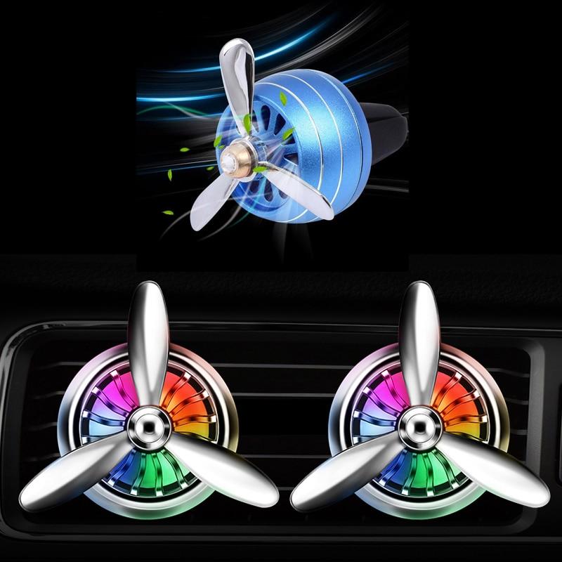 Ambientador de aire con perfume para coche salida Mini LED de aleación para Lada granta vesta kalina priora niva de rayos X largus Opel Astra H J zafira